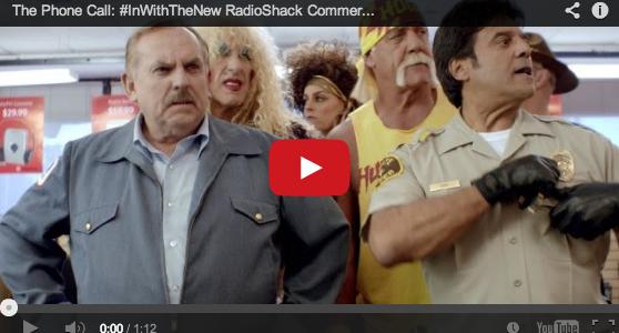 RadioShack Superbowl ad