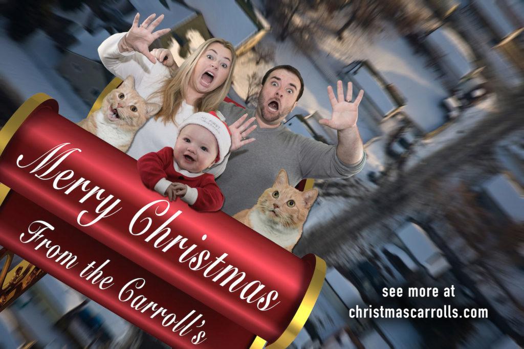 Christmas Carrolls Sleigh