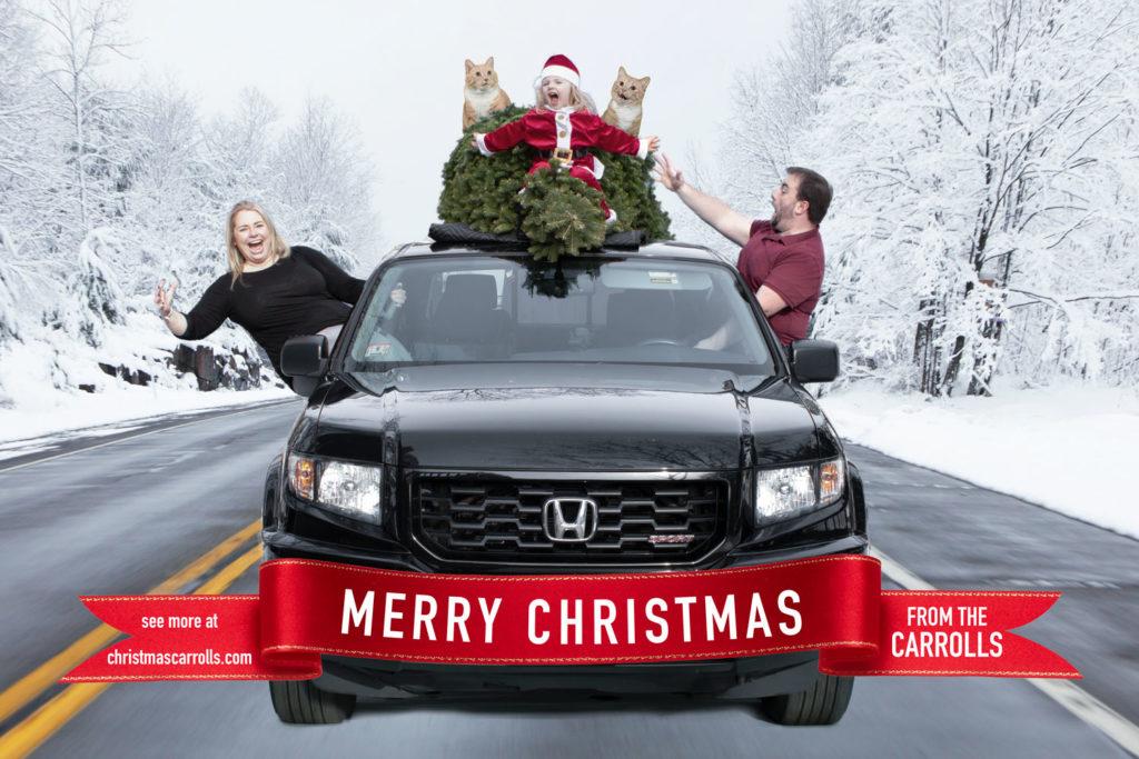 Christmas Carrolls Truck